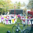 Bangalore Resort garden asia team activities