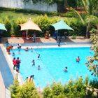 swimming garden asia
